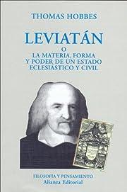 Leviatan (El Libro Universitario. Ensayo)…