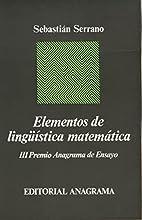 Elementos de lingüística matemática by…