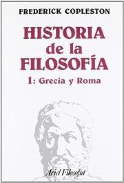 Historia de la filosofía. Vol. I, Grecia y…