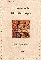Historia De La Filosofia Antigua (Tractatus…
