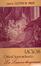 Laclos: Critical approaches to Les Liaisons…