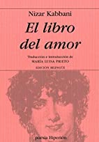 El Libro del Amor (Spanish Edition) by Nizar…