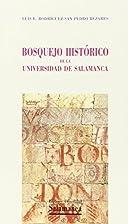BOSQUEJO HISTORICO DE LA UNIVERSIDAD DE…