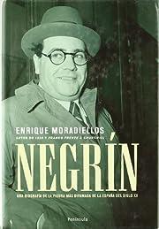 Negrin av Enrique Moradiellos