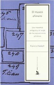 El Museo Efimero (Spanish Edition) de…