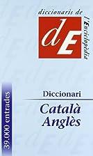 Diccionari anglès-català by Salvador Oliva