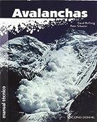 Manual de avalanchas by David McClung