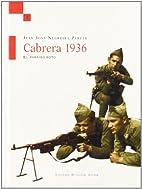 Cabrera, 1936: El Paraiso Roto by Juan José…