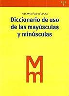 Diccionario de uso de las mayúsculas y…