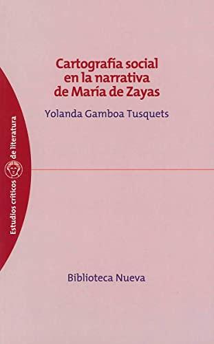 Cartografía social en la narrativa de María de Zayas