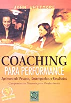 Coaching para performance by John Whitmore