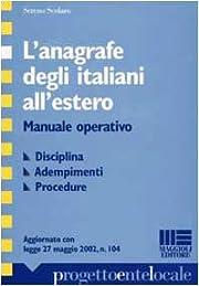 L'anagrafe degli italiani all'estero :…