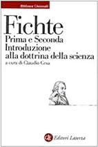 Prima e Seconda Introduzione alla dottrina…