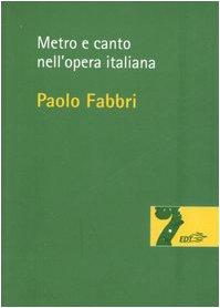 Metro e canto nell'opera italiana