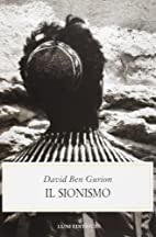 Il sionismo by David ben Gurion