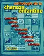 Engel Robert Anthologie De La Chanson…
