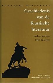 Geschiedenis van de Russische literatuur af…