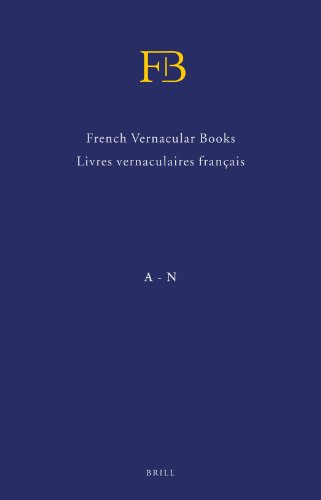 French vernacular books