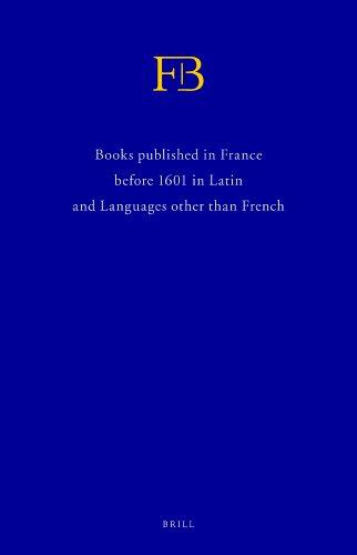 French books III & IV