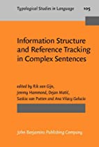 Information structure and reference tracking…
