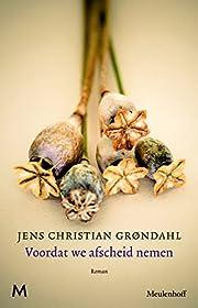 Voordat we afscheid nemen roman by Jens…