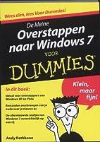 Overstappen naar Windows 7 voor dummies by…