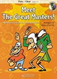 Meet the great masters! : 18 favorite classics for young players, B♭ Tenor Saxophone / arranged by James Curnow