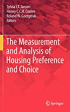 The Measurement and Analysis of Housing…