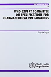 Who Expert Committee on Specifications for…