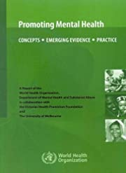 Promoting Mental Health: Concepts, Emerging…