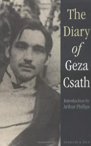 The Diary of Geza Csath de Géza Csáth