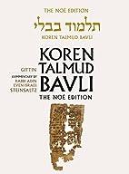 Koren Talmud Bavli Noé, Vol.21:…