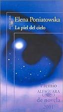 La piel del cielo (Spanish Edition) by Elena…