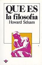 Que es la filosofia (Spanish Edition) by…