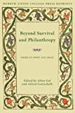 Beyond survival and philanthropy : American Jewry and Israel / edited by Allon Gal, Alfred Gottschalk