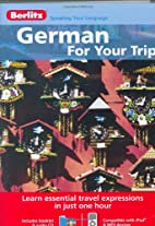 German for Your Trip by Berlitz