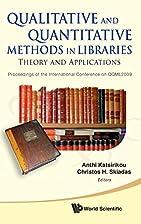 Qualitative and Quantitative Methods in…