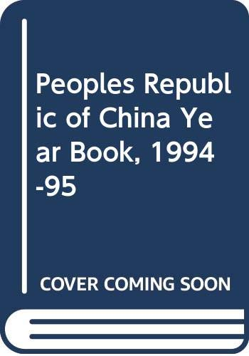 Peoples Republic of China Year Book, 1994-95
