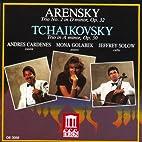 Arensky & Tchaikovsky: Piano Trios by et al…