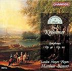 Krommer: Symphonies 40 & 102 by Franz…