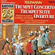Telemann: Trumpet Concerto Trumpet Suite…