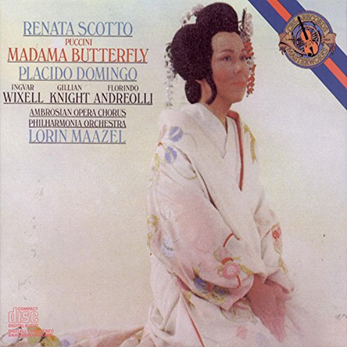 Madame Butterfly composed by Giacomo Puccini