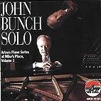 Solo 1 by John Bunch
