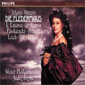 Die Fledermaus composed by Johann Strauss II