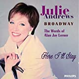 Julie Andrews - Here I'll Stay - The Words of Alan Jay Lerner