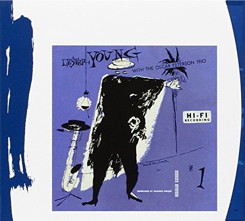 Lester Young with The Oscar Peterson Trio by Lester Young