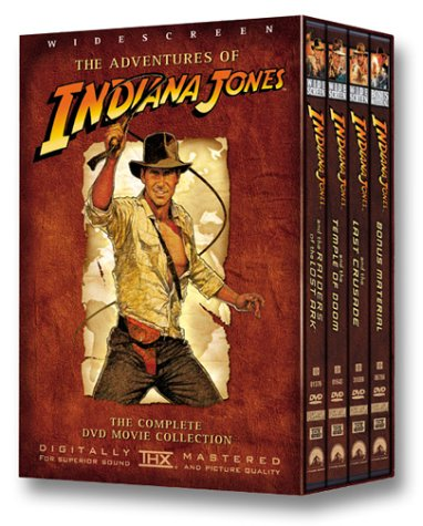 The Adventures of Indiana Jones (Raiders of the Lost Ark/The Temple of Doom/The Last Crusade) - Widescreen