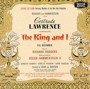 The King and I written by Oscar Hammerstein II and Richard Rodgers