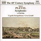 Pleyel - Symphonies by Uwe Grodd [conductor]