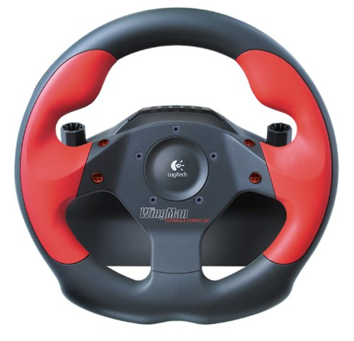 Logitech WingMan Formula GP Wheel And Pedals Set